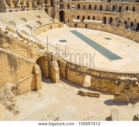 Archaeological Site Of El Jem