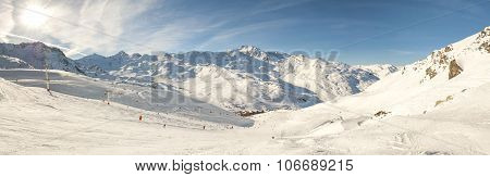 View Of A Ski Slope