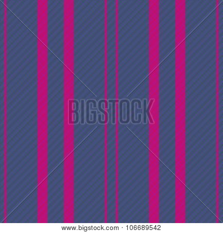 Abstract seamless vertically stripped blue pink purple background with fabric texture