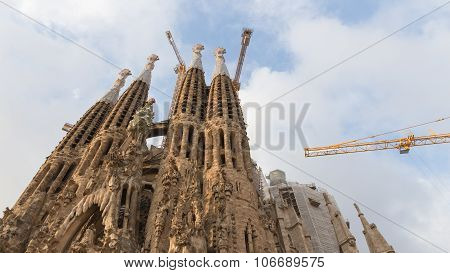 Unusual Sagrada Familia In Barcelona