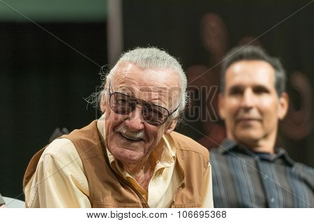 Stan Lee American Comic Book Writer