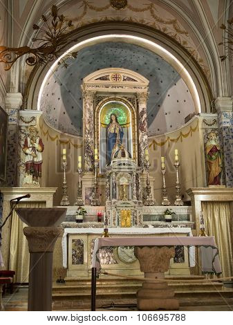 Ein Karem, Israel July 16, 2015 R .: Church. John The Baptist, Jesus Christ Predecessor,