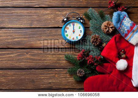 Alarm Clock And Christmas Stuff