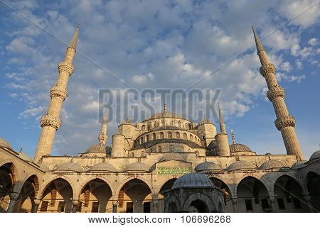 Blue Mosque Straight On