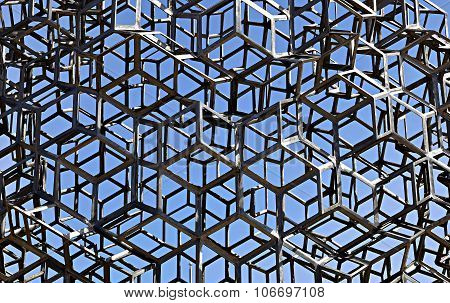 Background Of Metal Welded Construction