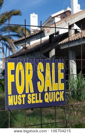 For Sale - A Sign Of The Times
