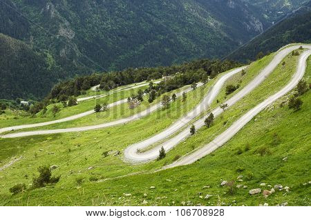 Col De Tende (alps)