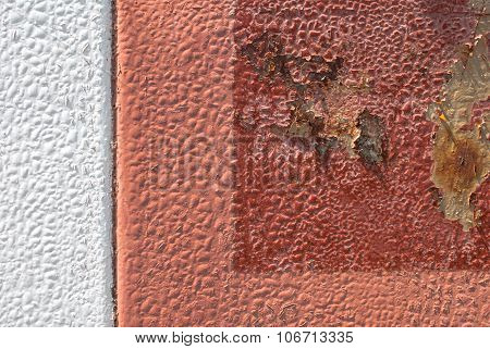 painted iron surface texture background