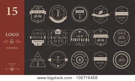 Badges And Logos Cycling