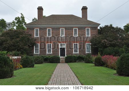 George Wythe House in Williamsburg, Virginia