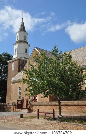 Bruton Parish Episcopal Church in Williamsburg, Virginia