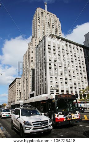 The Westin Hotel at Michigan Avenue in downtown Chicago