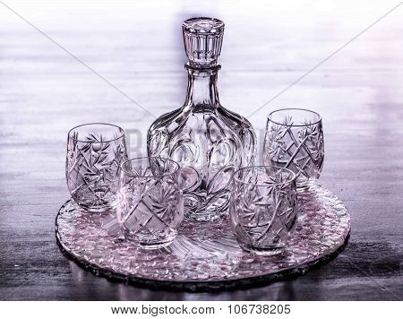 Crystal Water Container