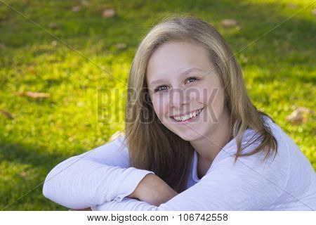 Happy Young Teen