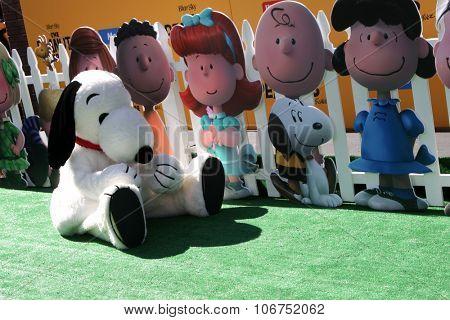 LOS ANGELES - NOV 1:  Snoopy at the