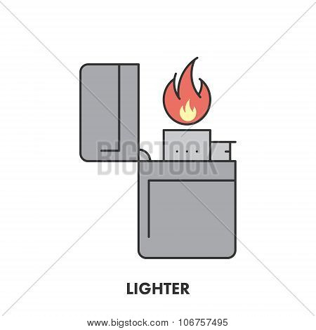 Line Icon Lighter In Color