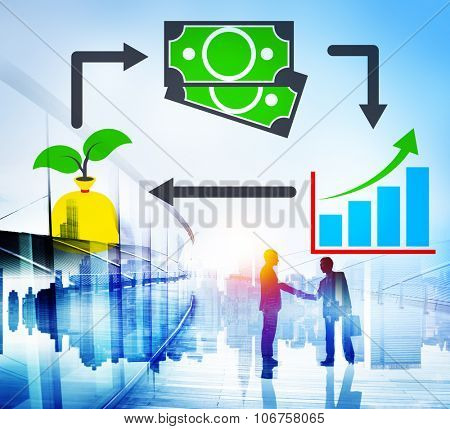Invest Investment Accounting Money Financial Concept