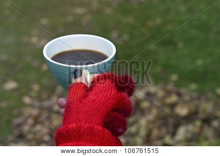 Female Hand With Coffee