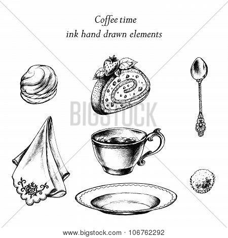 Coffee time set