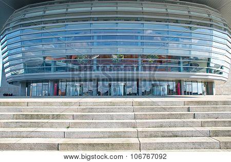 Copenhagen, Denmark - September 18: The Copenhagen Opera House, Designed By Henning Larsen On Septem