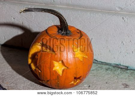 Halloween pumpkin from Budapest Pumpkin Festival 2015