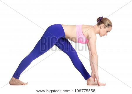 Yoga Half Pyramid Pose