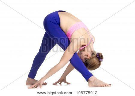 Yoga Parshvottanasana Pose
