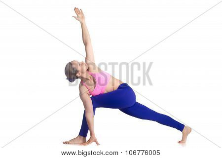 Parivrtta Parsvakonasana Yoga Pose