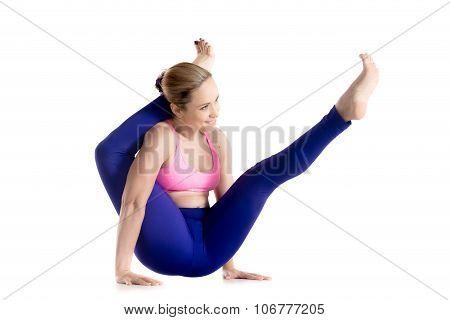 Moonbird Yoga Pose
