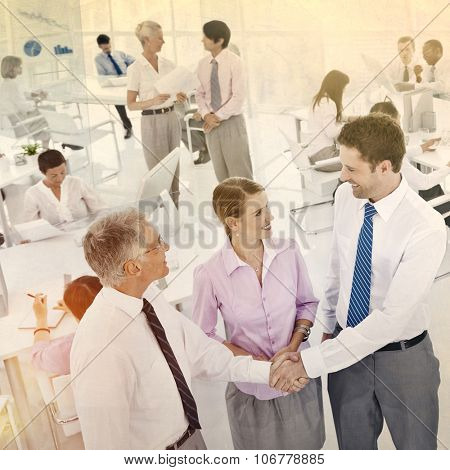Business People Workplace Office Colleagues Corporate Concept