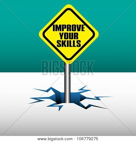 Improve your skills plate