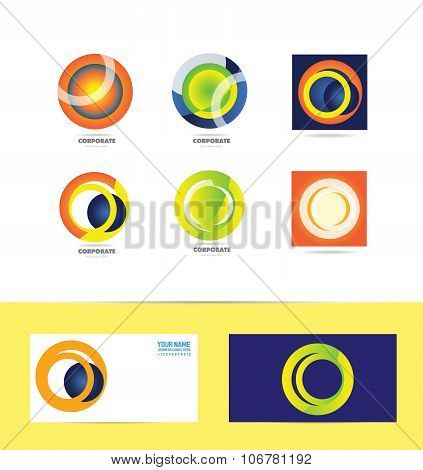 Corporate Business Circle Logo