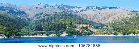 Summer Kefalonia Coast (greece)