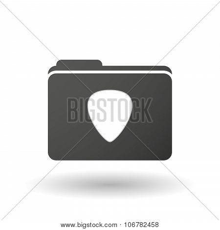 Isolated Binder With A Plectrum