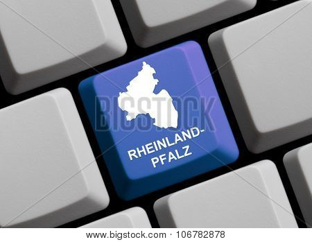 Computer Keyboard - German Federal State Rheinland-pfalz