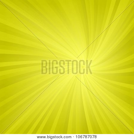 Yellow twirl pattern background