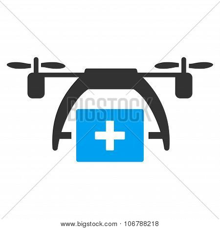 First Aid Drone Icon