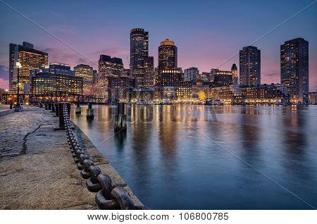 Bostons waterfront