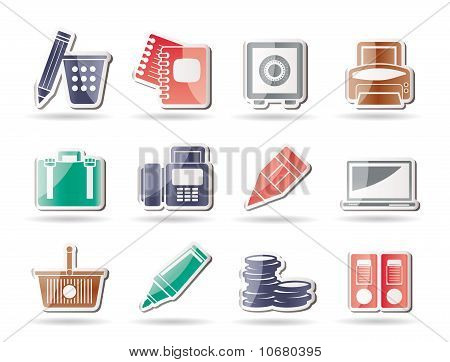 Business, Office and Finance Icons