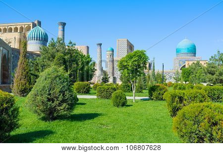 The Uzbek Garden