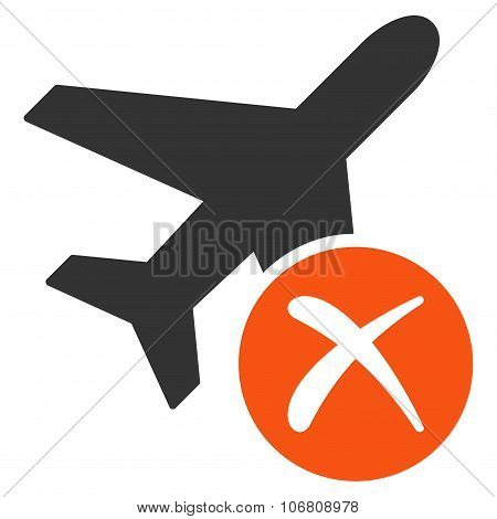 Aircraft Reject Icon