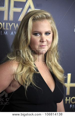 LOS ANGELES - NOV 1:  Amy Schumer at the 19th Annual Hollywood Film Awards at the Beverly Hilton Hotel on November 1, 2015 in Beverly Hills, CA