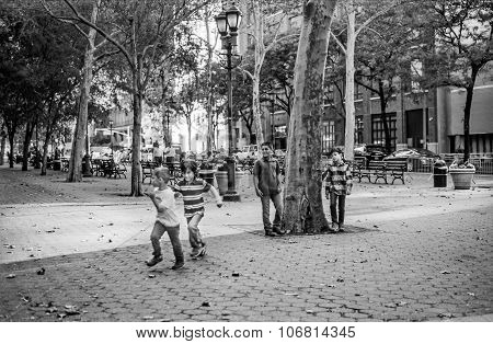 Kids Playing East Side