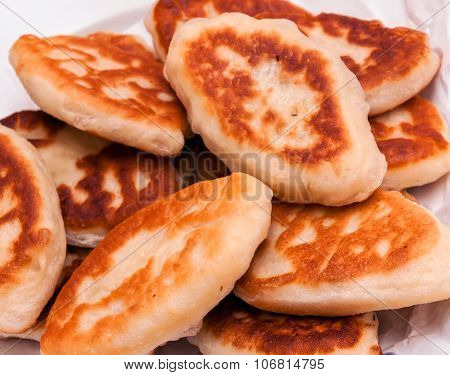 Ukrainian Cakes Fried In A Pan