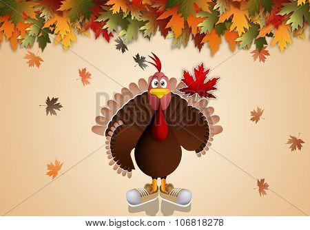 Funny Turkey For Thanksgiving