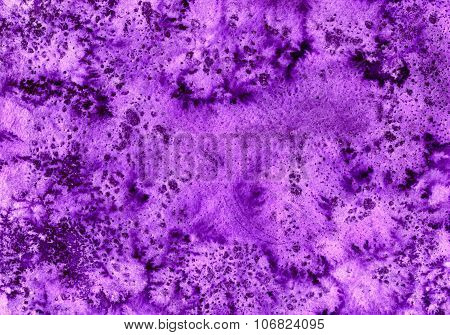 Abstract Seamless Violet Watercolour
