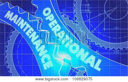 Operational Maintenance on Blueprint of Cogs.