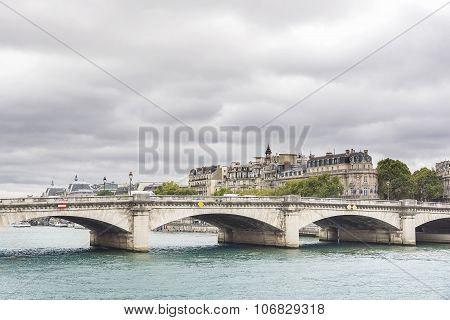Concorde bridge. Paris - France.