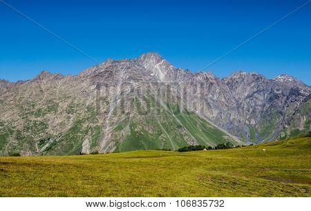 Mount Shani In Georgia