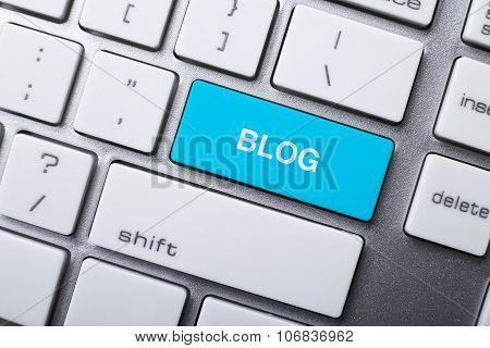 Blog Button On Keyboard